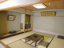 *「和室」一度に最大6名様でご宿泊可能!足を伸ばしてゆっくりとお寛ぎください。(一例)