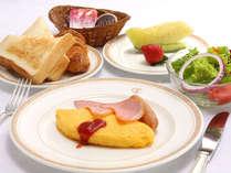 *「朝食ー洋食」パン派な方にオススメ!ドリンクはお好きな分だけお飲みいただけますよ♪(一例)