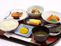 *「和朝食」明日へのエナジーは、やっぱり朝ごはん!(一例)