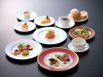 洋食:スタンダードコース 旬の素材を盛り込んだメニューです。
