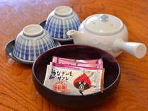 *【お茶菓子】お部屋に着いたらホッと一息☆※画像は浜名湖名物『うなぎいも』のサブレ♪