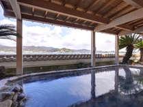 *【1階露天風呂】爽やかな風に吹かれながらゆっくりとお楽しみ下さい。