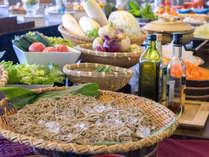 *【昼食バイキング一例】地産地消にこだわる食材が並びます♪浜名湖の味覚をぜひ御堪能下さい☆