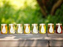 *【朝食一例】花の蜜によって色も味も香りも違う天然のはちみつ