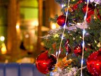*【クリスマスツリー】ロビーには大きなクリスマスツリーがございます