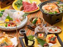 *【和食会席:秋(一例)】季節ごとに旬の食材を活かした和会席を展開、ぜひ御堪能ください