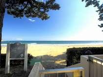 ■お部屋から水着のままビーチへ
