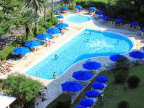 宿泊者様専用プールで夏を満喫!