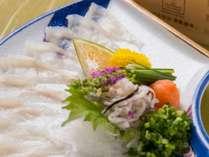 ◆冬期限定◆板長・高木雄一が贈る冬の贅沢ディナー・河豚(ふぐ)会席プラン(夕朝食)