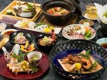 <旬の和食会席>贅沢!秋の食旅・伊勢海老の宴(夕朝食付き)