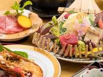 期間限定和食会席 -旬の食旅- 贅沢ディナー・伊勢海老の宴プラン(夕朝食付き)