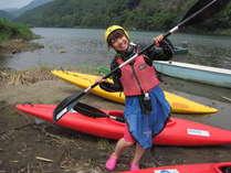 【体験】【1日カヌーして泊る】ゴールは沈下橋1日8kmカヌーツーリング