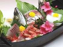 【2名様からOK!舟盛】金沢来たらやっぱりお魚♪北陸の旬魚を金沢和洋会席とご一緒に!