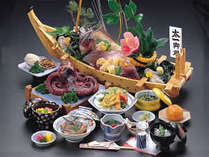 海鮮料理・船盛(4名様盛)タコの丸ゆで(4名様盛)