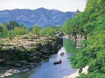 渓谷と長瀞