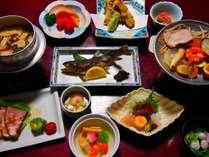 和食夕御膳の献立一例です