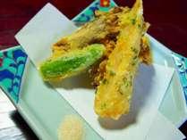 お料理:季節の天ぷら