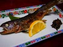 お料理:岩魚の塩焼