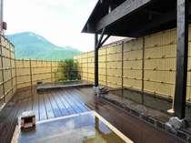 温泉に浸かりながら由布岳を眺める贅沢な時間♪