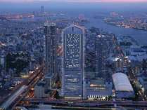 ◎地上200mの高層ホテル「ホテル大阪ベイタワー」