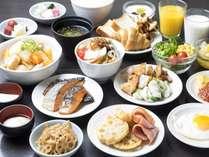 ◆瀬戸内の品々を揃えた和洋朝食バイキング♪