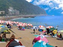 【夏休み】伊豆七島を眺めながらビーチで海遊び◆ガーデンプールをリゾート気分で満喫♪お子様特典付き