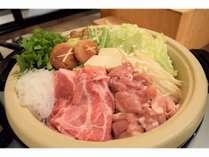 鍋付きプラン 京のもち豚&京の地鶏