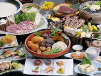 主こだわりの厳選食材を使ったお料理(創作会席一例)