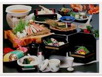 カニ鍋付 和食会席