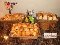 【朝食バイキング】パン
