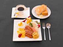 マリーナホテル海空での朝食 お好みに合わせて