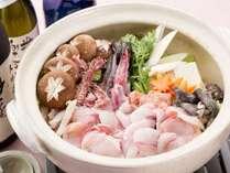大洗の冬グルメといえばあんこうの旨味が凝縮された鍋