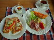 朝食(一例)