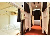 Dormitory for 8 people.(定員8名)。