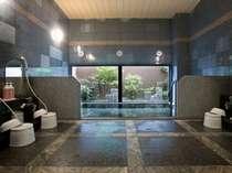 ラジウム人工温泉大浴場♪客室では味わえない広々とした大浴場をお楽しみください♪