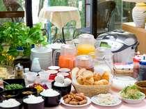 福井県産のこだわり素材を活かした人気の朝食です!