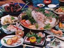 海鮮料理が盛り沢山
