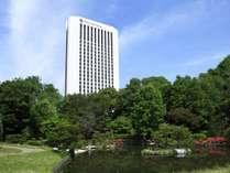 ホテル外観*夏