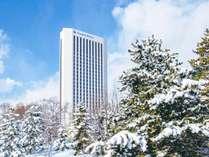 ホテル外観*冬