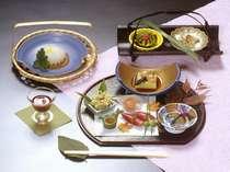 季節感と心尽くしの会席料理(一例)