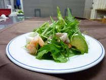料理例(シーフードサラダ)