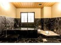 貸切風呂・岩タイプ 50分 2,160円でご利用いただけます/2013年4月撮影