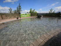 大浴場:洋風空中露天風呂