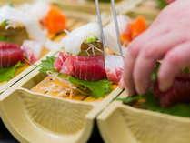 岩手の季節の旬をふんだんに使用したお料理をご用意いたします。