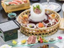 旬のアップグレート彩和会席膳 ※料理イメージ