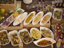 【創作イタリアン】お肉~お魚~お野菜などバランスの良い料理