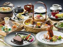 <アップグレード創作和食>県産牛のロースト、桜鱒の酒汐焼き、スッポンとフカヒレ土鍋など