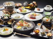 <アップグレード創作和食>豪華秋の山海の幸をふんだんに使用した和食コース