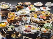 <特選創作和食>豪華秋の山海の幸をふんだんに使用した特選和食コース