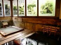 【貸切風呂・正徳の湯】江戸時代の浴室を再現。到着順に予約